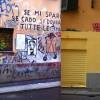 Il Murales in via Scaldasole è stato rimosso