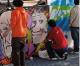 In provincia di Oristano, è caccia ai vandali imbrattatori.