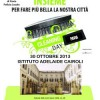 Cleaning Day all'istituto A. CAIROLI di Pavia
