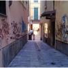 Accesso al corso fra i graffiti
