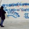 Bari Vecchia, i vandali della vernice: imbrattati i vicoli e le antiche chianche