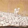 """""""BLU"""" arte murale contro il Muos"""