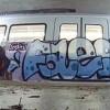 Spray sul metrò, individuato un writer