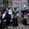 Monza, raid notturno anti-writers  Nastro adesivo e slogan sulle tag