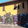 VIA TRASIMENO È POLEMICA SUI GRAFFITI