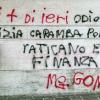 Il vandalo rischia due anni di carcere