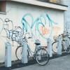 Circolo: degrado e graffiti all'ingresso di viale Borri