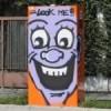 Graffitari in azione Il «Velobox» diventa un cartone animato
