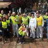 Terzo Clean up con l'Associazione 4Tunnel in Piazza Morbegno