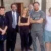 """Graffiti cancellati pace fatta tra Pao e i""""pulitori"""""""