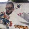 Caccia all'imbianchino matto: cancella i graffiti autorizzati