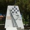 Imbrattato il monumento ai caduti dell'Areonautica