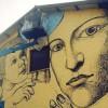 Casa Coccapani: sul muro sono al lavoro i writers