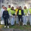 Cleaning day presso il muro storico della Cassina de' Pomm