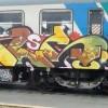 Graffiti sul treno, minorenni nei guai