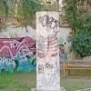 Writers e vandali, viale De Gasperi sedotto e abbandonato