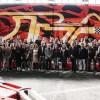 Ecco il murale da 600 metri quadrati per la pista di kart