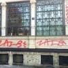Palazzina Liberty vandalizzata oggi la pulizia
