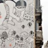 Bombe di colore contro i murales firmati da Millo