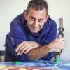 Tolosa, l'artista Chait Maigre ricopre un autovelox di Lego
