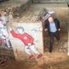 """L'assessore tra i graffiti doc """"Un luogo pieno di fascino"""""""