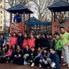 Report del cleaning in piazza Bacone del 14 Marzo