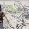 Edo rivive nell'arte di amici e studenti Un murales per lui all'Isiss di Tradate