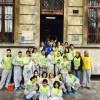 Report del cleaning presso la scuola media di via Tabacchi del 6 Aprile