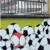 Il murale più lungo d'Europa colora le vie intorno a San Siro