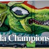 Murale da Champions