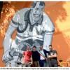 Gino Bartali celebrato con un murale