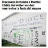 Milano, vandali scatenati contro il Museo Diocesano pronto per l'omaggio a Martini: follia di tag