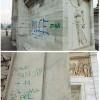 L'Arco della Pace diventa obiettivo dei vandali