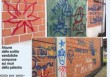 Blitz dei vandali alla palestra comunale di Pombia: tappezzano i muri di scritte e insulti contro la polizia