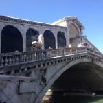 Intervento  sul Ponte di Rialto