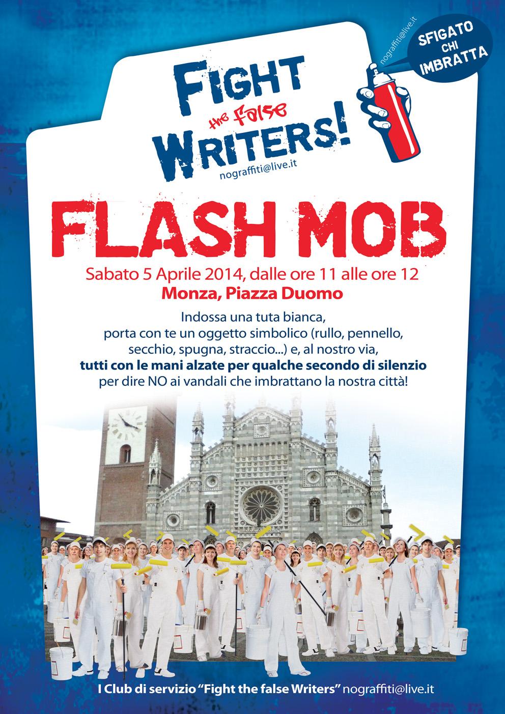 FlashMob 5 Aprile 70x100