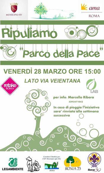 Parco della Pace 28 March 2014