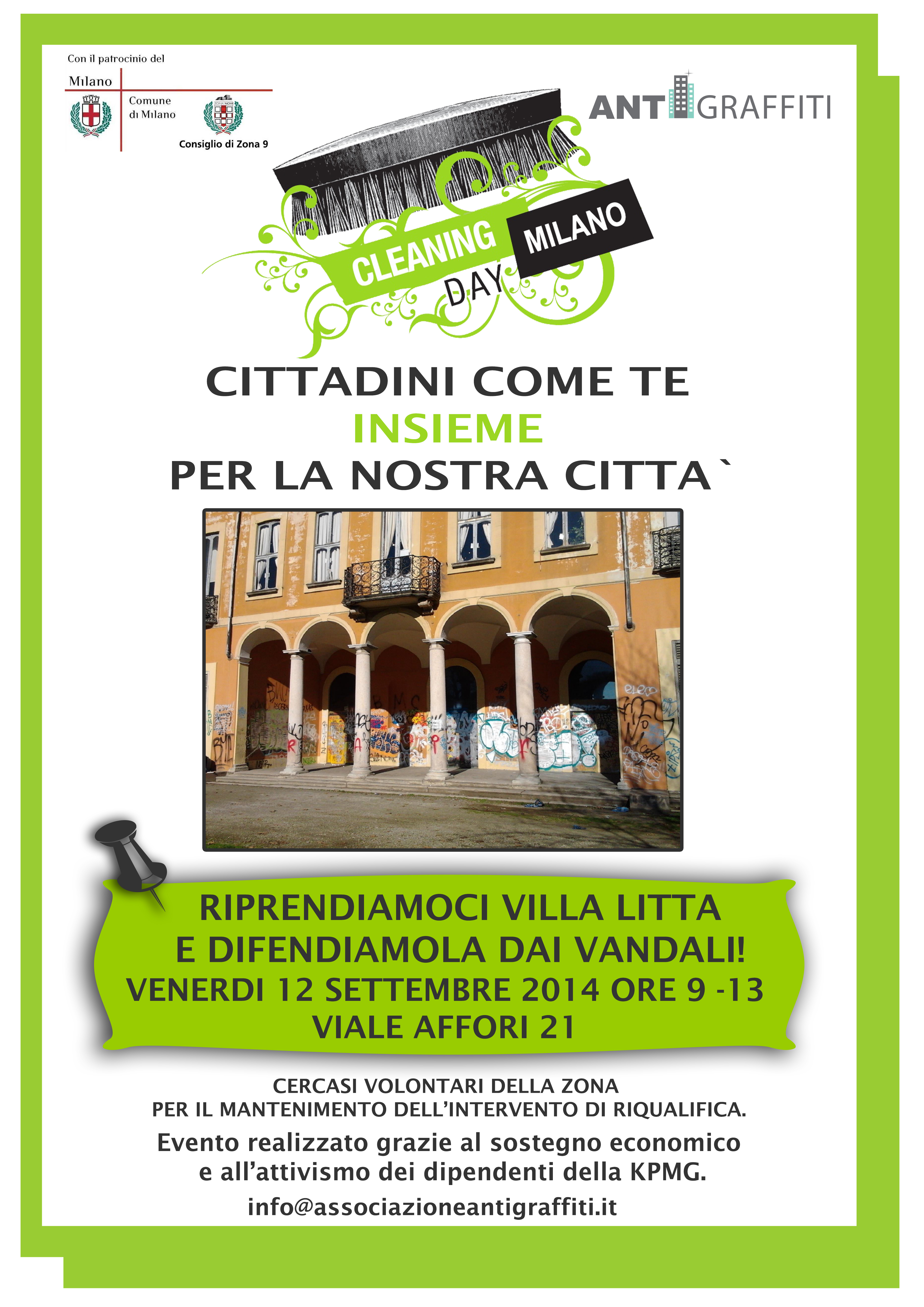 Cleaning 12 settembre 2