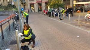 volontari a lavoro lima